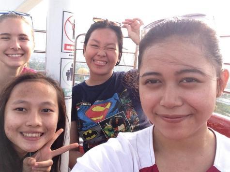 The girls and I at Jungleland.
