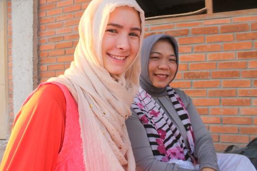 Another shot of Bunda and I. (Eid-ul-Adha)
