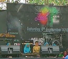 Performing,