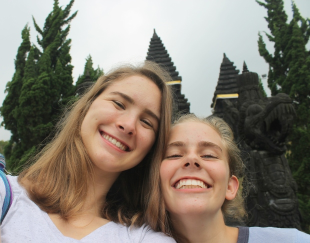 Selfie with Isa @ Pure Agung Parahyangan