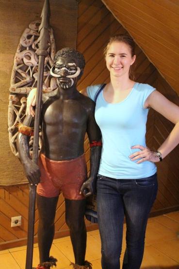 Papua person and I. (Taman Mini) (S)