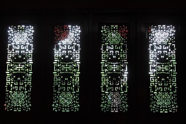 Confucius temple windows.