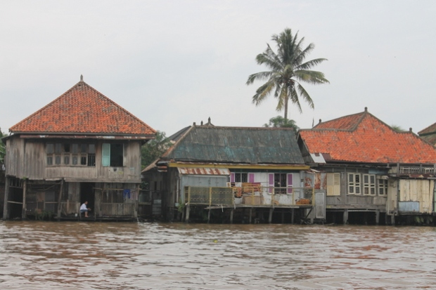 Houses on the Musi.