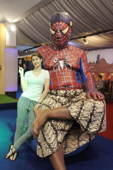 with bapak spiderman