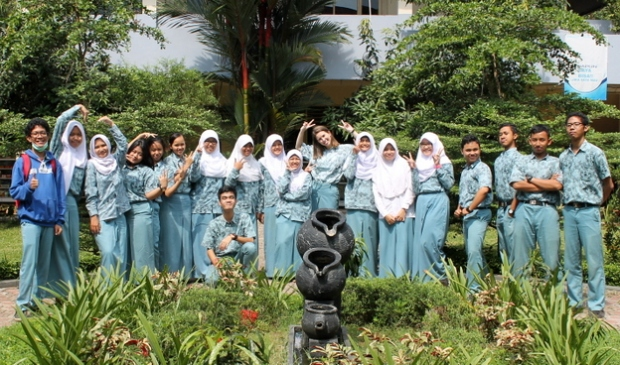 With classmates from IPA 6