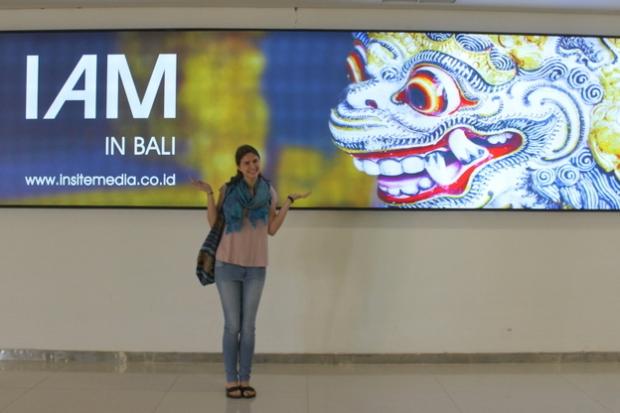 I AM IN BALI